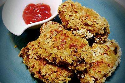 燕麦盐酥鸡翅(改良版)