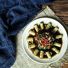 夏季必备凉菜-凉拌黄瓜卷