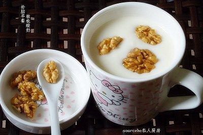 补脑早餐核桃酸奶