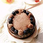 红茶巧克力奶油蛋糕