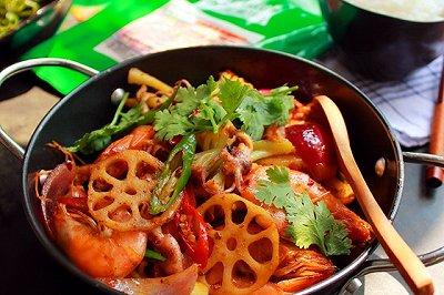 海鲜麻辣香锅