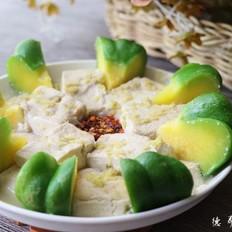 姜柄瓜蒸臭豆腐