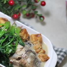 年夜饭必吃的菠菜煲鱼汤