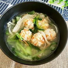 什锦丸子汤