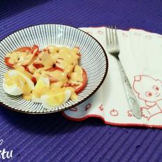 番茄鸡蛋沙拉