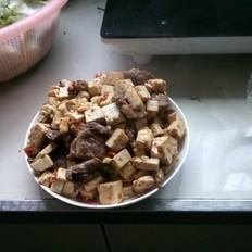 麻婆豆腐炒肉