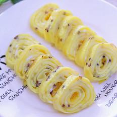 三色藜麦厚蛋烧 宝宝辅食食