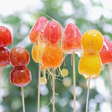 止咳、预防积食——水果糖葫芦 宝宝辅食