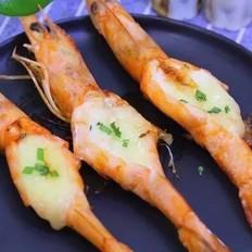 香煎芝士虾 宝宝辅食食谱