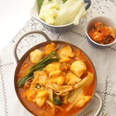 泡菜龙利鱼火锅