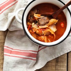 辣牛肉汤(韩式辣牛肉汤)