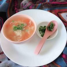 金针菇西红柿汤