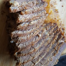 五香干切卤牛肉