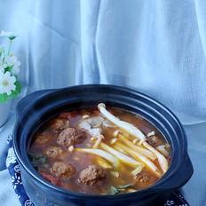 酸汤肉丸砂锅