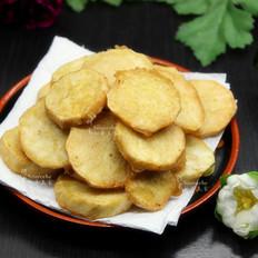 酥脆五香炸薯片