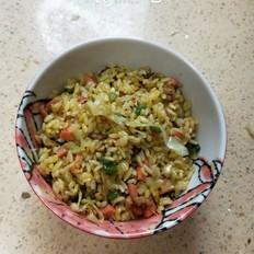 家常炒米饭