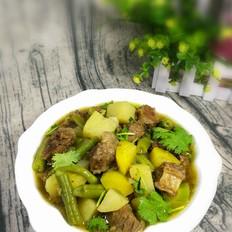 牛肉炖土豆豆角