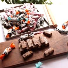 巧克力牛轧糖