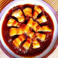 红烧肉炖水晶粉
