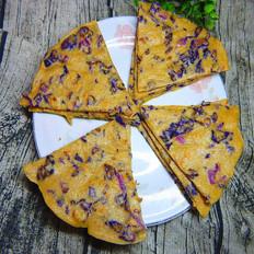 紫包菜煎饼