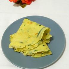 黄瓜鸡蛋饼