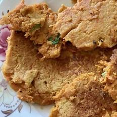 香煎胡萝卜鸡蛋饼