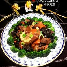 红烧肉炖糯玉米