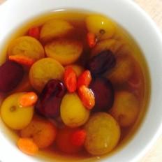 金桔红枣枸杞汤