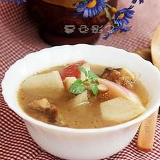 牛肉汤炖萝卜