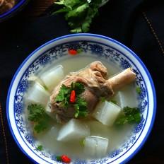 羊腿萝卜汤
