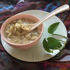 暖胃二米绿豆粥