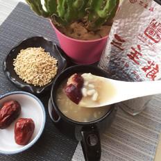 燕麦米红枣粥