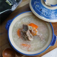 猪骨胡萝卜粥