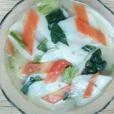 年糕杂蔬汤