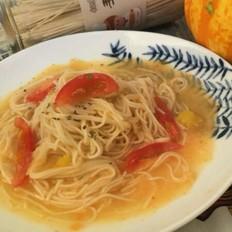金汤大虾面