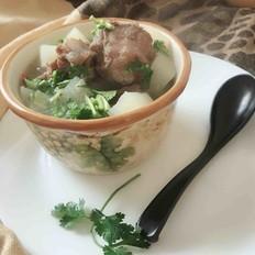 牛尾萝卜汤