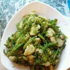 芋头炒海菜