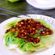 蚝油蒜蓉生菜