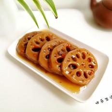 红糖桂花莲藕