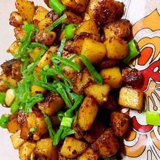 香辣红烧土豆块