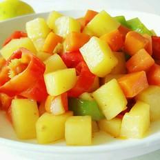 辣炒土豆胡萝卜块