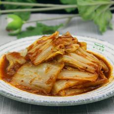 泡菜酱炒大白菜