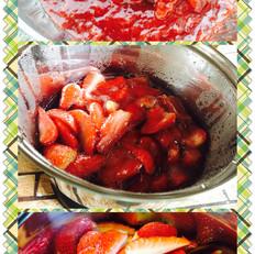 超简单草莓酱