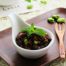 香菇蚕豆酱