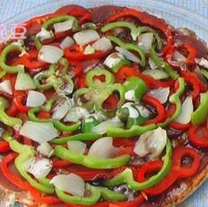 腊肉火腿披萨