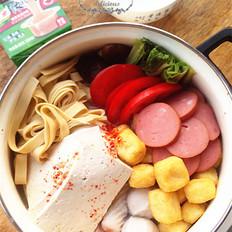 浓汤豆腐火锅