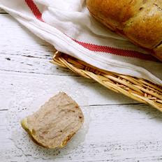 卡士达全麦米餐包