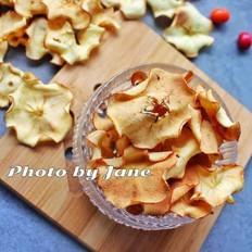 40分钟烤苹果脆片