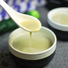薏米黄瓜绿豆浆