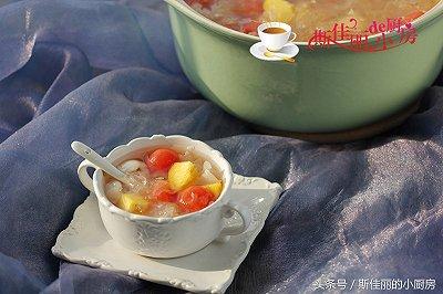 什锦水果银耳汤